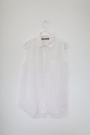 Blaumax Sleeveless Blouse white