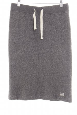 Blaumax Skater Skirt light grey flecked casual look
