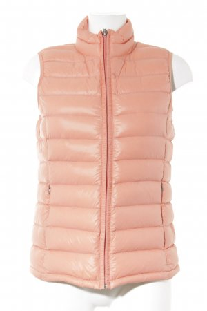 Blaumax Quilted Gilet salmon-bright red quilting pattern