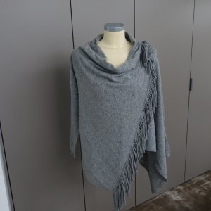 Blaumax Cárdigan de punto gris lana merina