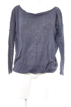 Blaumax Sweatshirt dunkelblau Casual-Look