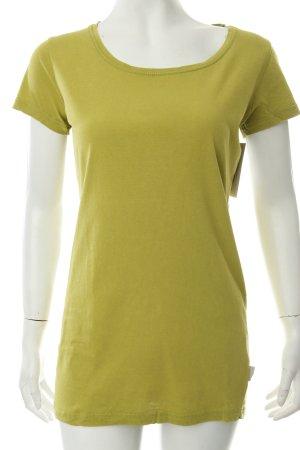 Blaumax T-Shirt olivgrün Logo-Applikation