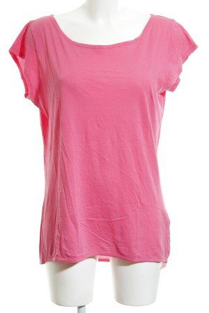 Blaumax T-shirt roze casual uitstraling