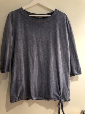 Cecil Batik shirt staalblauw Katoen