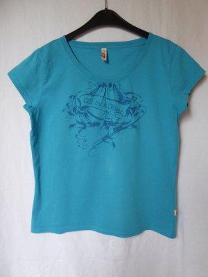 Blautürkises T-Shirt von QS (S.Oliver)