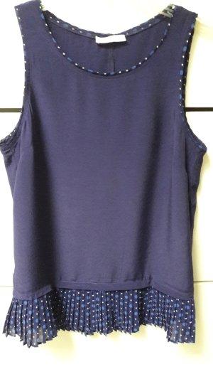 Promod Flounce Top dark violet