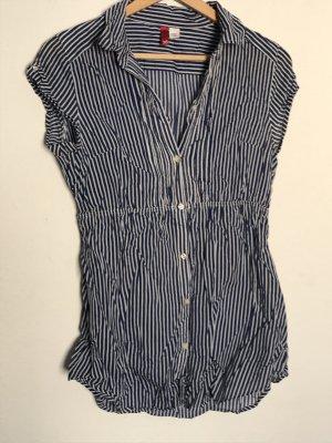 Blauweiß gestreifte Bluse von H&M