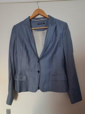 Blazar von René Lezard, Größe 42, hellblau, leichter Jeans-Look