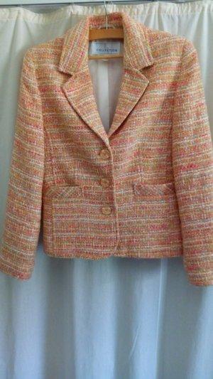 Blazer in lana multicolore