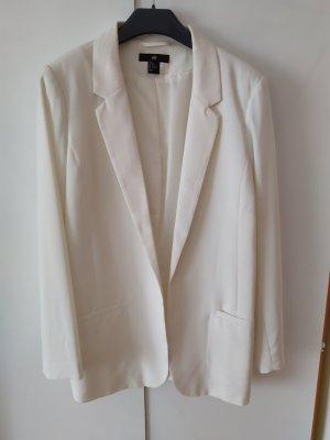 H&M Unisex Blazer natural white