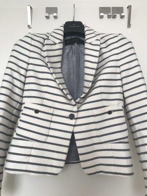 Zara Basic Unisex Blazer white-grey