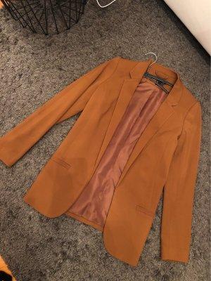 H&M Lange blazer bruin