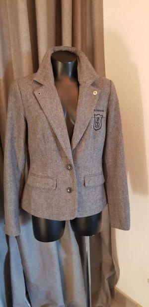 4Wards Wool Blazer black-grey