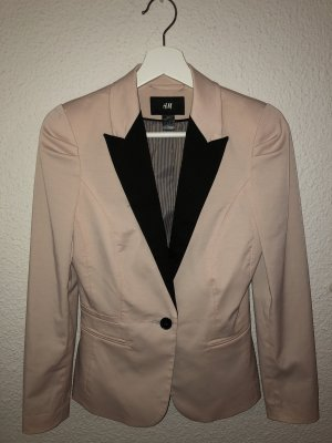 Woman for H&M Blazer stoffig roze-zwart