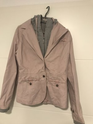 Sweat Blazer grey-light pink