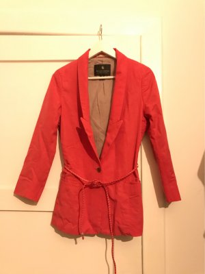 Maison Scotch Denim Blazer neon red
