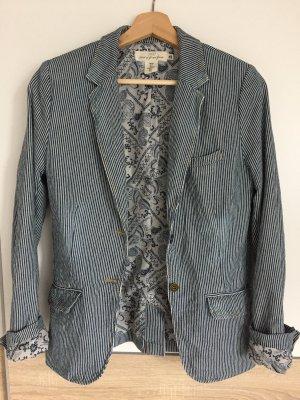 H&M L.O.G.G. Denim Blazer slate-gray