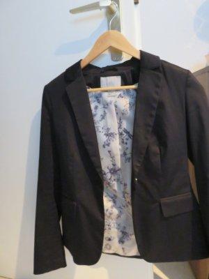 H&M Tweed blazer zwart