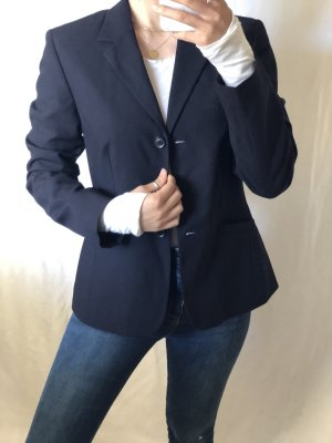 Oui Sweat Blazer black-dark blue