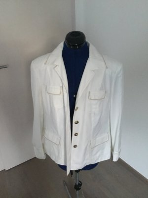 Gerry Weber Wool Blazer natural white