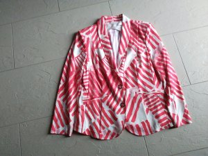 Airfield Jersey Blazer white-bright red polyester