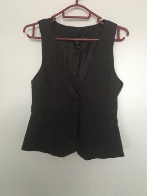 Mango Suit Knitted Blazer black