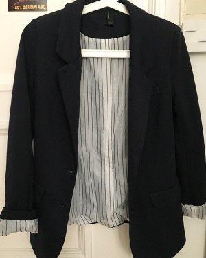 Vero Moda Jersey blazer donkerblauw