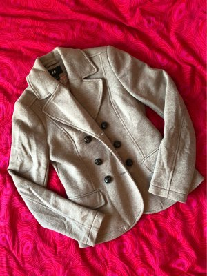 H&M Sweat Blazer beige