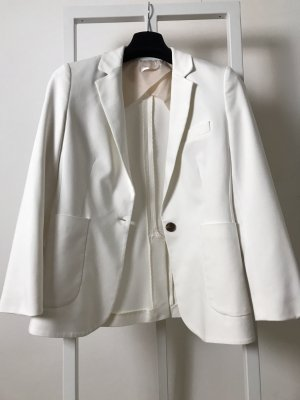 Anine Bing Boyfriend Blazer natural white