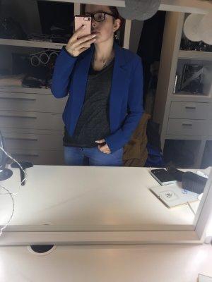Amisu Korte blazer blauw