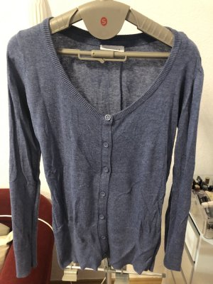 C&A Knitted Blazer steel blue
