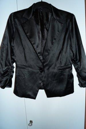 Fashion Club Blazer de esmoquin negro
