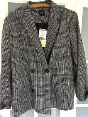Only Tweed Blazer grey-black