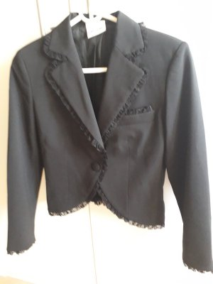 Piú & Piú Tweed Blazer black