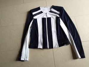 Airfield Blazer corto bianco-blu scuro Viscosa