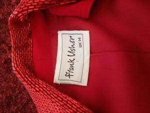 Frank Usher Blazer de esmoquin rojo