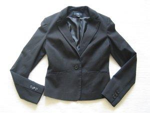blazer anzug H&M neuwertig gr. xs 34 schwarz klassiker business buero