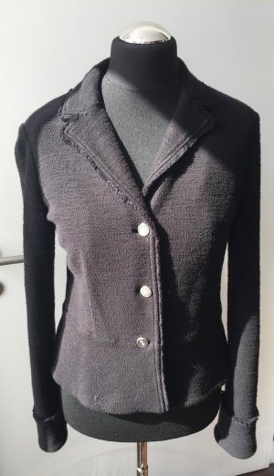 Armani Blazer black-silver-colored