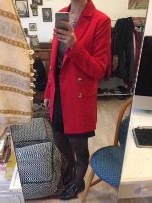 Asos Blazer boyfriend doré-rouge