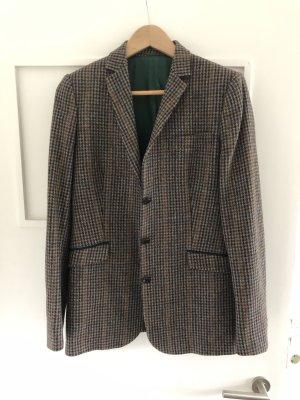Tweed Blazer brown-blue