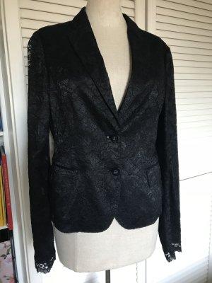 Nice Connection Blazer negro tejido mezclado
