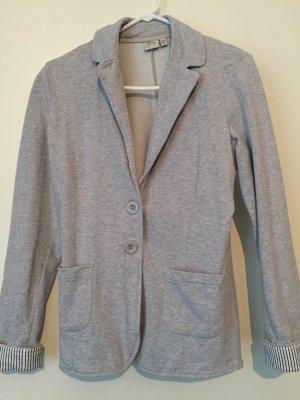 Blazer aus Sweatshirt Stoff Sweatblazer