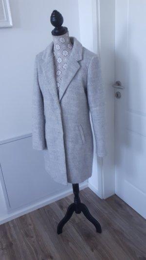 Blazer aus Wollemix in Farbe grau