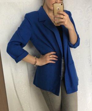Lady in Paris Blazer largo azul
