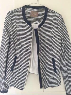 Orsay Short Blazer white-dark blue