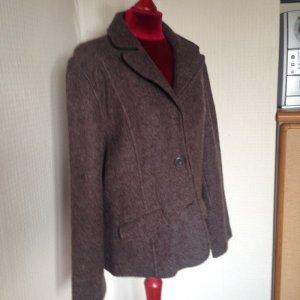 Wool Blazer dark brown