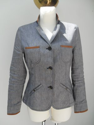 Brunello Cucinelli Denim Blazer multicolored linen