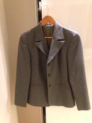Blazer/Business Anzug/ Kostüm von Benetton, Größe 34, grau