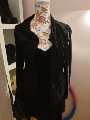 Knitted Blazer black
