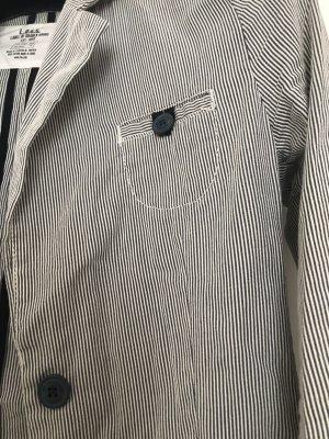 H&M L.O.G.G. Unisex Blazer white-grey